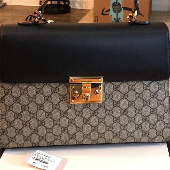 84957e559f34 Gucci Bags   Authentic Padlock Top Handle Bag   Poshmark